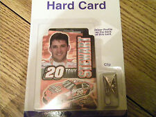 TONY STEWART #20 NASCAR HARD CARD NEW IN PACKAGE