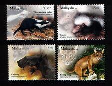 2008 MALAYSIA NOCTURNAL ANIMALS (4v) MNH