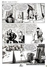 """MAJO -  Dampyr  n. 35 """" I cacciatori di fantasmi """" -  p. 98"""