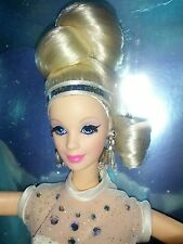 "Mattel 1996 Classique Collection Starlight Dance 11"" Blonde Barbie White Gown"