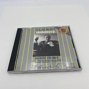 Vladimir Horowitz Favorite Encores - Music CD - CBS Masterworks
