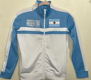 Outerstuff Youth Sz 10-12 Argentina National Soccer Team Track Jacket Full Zip