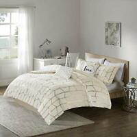 Intelligent Design Raina Ivory/Gold Comforter Set (Twin/Twin XL)