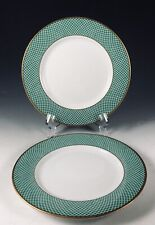 1980 Block Spal Portugal GREEN FIELDS 2- Bread & Butter Plates EXC (7 sets avail