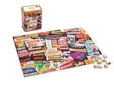 Gibsons - 500 PIECE JIGSAW PUZZLE - 1970s Sweet Memories Jigsaw Tin
