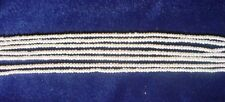 """ROUNDEL fresh-water pearl strand, 16"""" uniform, excellent quality, 2.5x3 mm"""