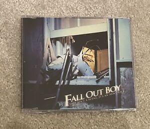 Fall Out Boy - This Ain't A Scene... Promo CD Single **Rare**