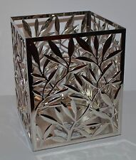 NEW BATH & BODY WORKS VINE LEAF SQUARE LARGE 3 WICK CANDLE HOLDER SLEEVE 14.5 OZ