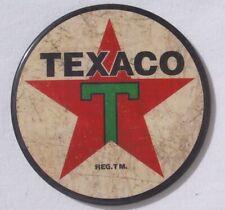 Texaco Tankstellen Logo Werbung XL Magnet Schild neu und original USA