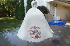 Sauna hat . 100 % Wool Felt. Made in Europe. No China. Zsf-983/lk