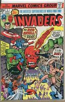 Invaders 1975 series # 5 very fine comic book