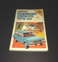 Chilton Datsun Nissan 1200 210 Sentra 1973-1988 Repair Manual ...