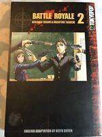 Battle Royale Volume 2 English Manga Koushun Takami  & Masayuki Taguchi Tokyopop