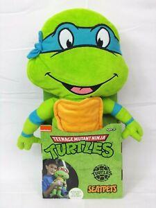 Teenage Mutant Ninja Turtles TMNT SeatPets Plush Seat Belt Cover, Leonardo