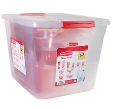 Rubbermaid 62-Piece TakeAlongs Food Storage Set Brand New