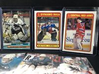 Arturs Irbe🔥Big Lot🔥21 Different Cards! Inserts Rookies Upper Deck OPC RC
