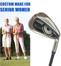 8 CLUB SENIOR WOMENS IRON 4-SW FULL SET w/ GRAPHITE ULTRA LITE LADIES SHAFTS
