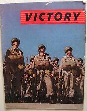 1944 VICTORY Seconda Guerra Mondiale WWII Paracadutisti sbarco in Normandia
