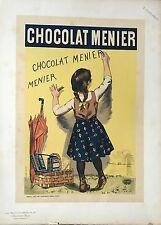 BOUISSET FIRMIN LE CHOCOLAT MENIER 1892
