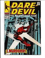 Daredevil The Man Without Fear #44 Marvel Comics (1968) FN- 5.5
