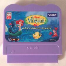 vtech V.smile Disney's The Little Mermaid Ariel's Majestic Journey Cassette Game