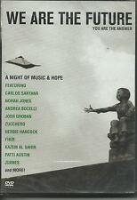 VARIOUS - We Are The Future. A night of music & hope (2007) DVD