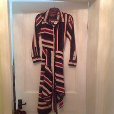 Lipsy Long Sleeve Dress 10 - handkerchief hem