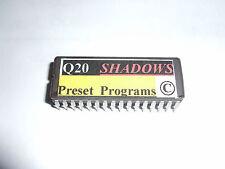 Alesis Q20 - VSE PRESETS Eprom - 100 Vintage Shadows Echoes - Copyrighted.