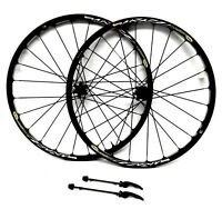 "Mavic Crosstrail 26"" MTB Wheelset Center Lock Disc, UST Tubeless, Quick Release"