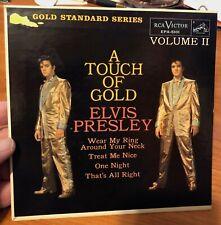 "ELVIS PRESLEY ~ ""A TOUCH OF GOLD VOL 2"" ~ GS EP ~ ORANGE LABEL ~ NM ~ MEGA RARE"