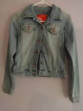 Ecko Red Denim Jacket Juniors Size Extra Xtra SMall XS