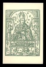 "santino-santo card""S.NARCISO EN GERONA"