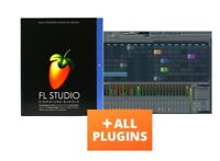 FL STUDIO 20 SIGNATURE ALL PLUGIN BUNDLE PC LICENSE WINDOWS MAC FRUITY LOOPS