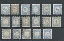 Nederland Port P44-60  MNH/postfris  CV 550 €  lees