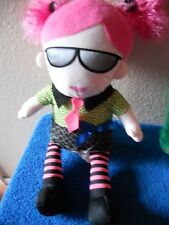 "HOBBY LOBBY PLUSH DOLL 15"" TALL GIRL VGC CUTE with sunglasses shades"