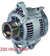 HIGH AMP ALTERNATOR 1998-96 95 93 92 1991 Jeep Cherokee Grand Cherokee 2.5L 4.0L