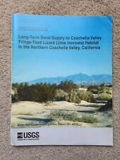 Long-term Sand Supply to Coachella Valley Fringe-toed Lizard Habitat in the No.