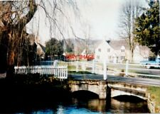 PHOTO  LOWER SLAUGHTER GLOUCESTERSHIRE THE BRIDGE CARRYING BECKY HILL OVER THE R