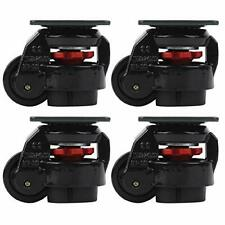 4pcs Level Adjustment Caster, GD‑60F Heavy Duty Leveling Caster for Heavy