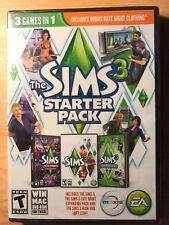 The Sims 3: Starter Pack [3 Games In 1 Pack] (Windows/Mac,) PC NEW Video Game