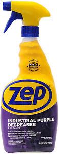 Zep Pro Industrial Purple Degreaser Cleaner, Deep Cleaning Shop Grade (32 fl oz)