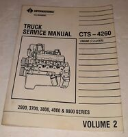 International Truck Service Manual CTS-4260 2000 3700 3800 4000 & 8000 Series v2