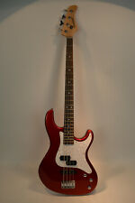 Fernandes Retrospect 4 String Electric Bass Guitar Candy Apple Red New Old Stock