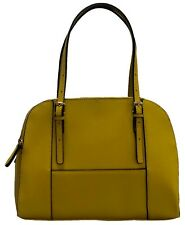 Mustard Yellow Tote Large Handbag Ladies Shoulder Bag Faux Leather Structured