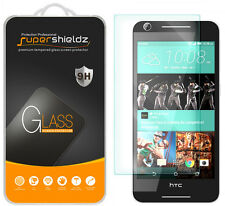 2X Supershieldz Tempered Glass Screen Protector Saver Shield For HTC Desire 625