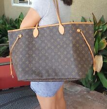 Louis Vuitton NEVERFULL GM US SELLER LARGEST SIZE XL 100% real TRAVEL WEEKENDER