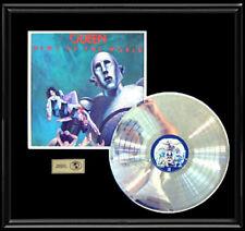QUEEN NEWS OF THE WORLD WHITE GOLD SILVER PLATINUM TONE FRAMED LP NON RIAA AWARD