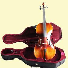 Full Size 4/4 Cello +Bag+Case+4/4 Cello Bow+Bridge- NAOMI FULL SIZE CELLO