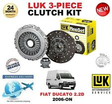 FOR FIAT DUCATO 250 290 100 MultiJet 2.2 D CLUTCH KIT 2006-ON 100BHP LUK 3 PIECE