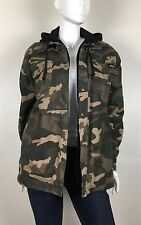 Dickies Men's Coat Camouflage Hooded Insulated Liner Army Green Size Medium